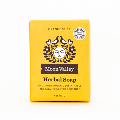 Cleansing Body Bar Orange Spice - Moon Valley Organics