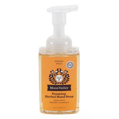 Orange Spice Herbal Hand Soap - Moon Valley Organics