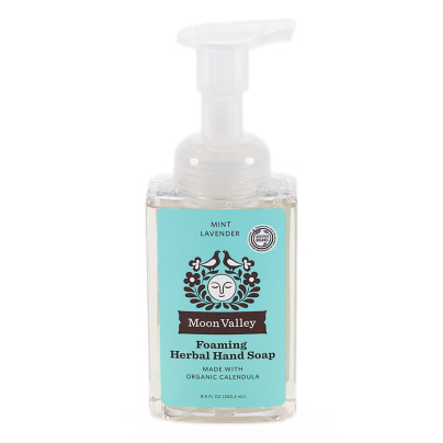 Mint Lavender Herbal Hand Soap - Moon Valley Organics