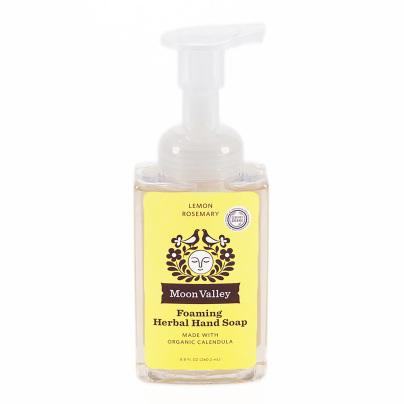 Lemon Rosemary Herbal Hand Soap - Moon Valley Organics