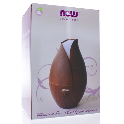 Ultrasonic Faux Wood Grain Diffuser - NOW/Personal Care