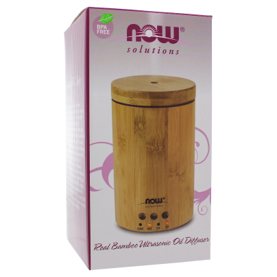 Ultrasonic Bamboo Diffuser - NOW/Personal Care