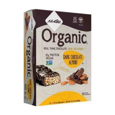 NuGO Organic - Dark Chocolate Almond product image
