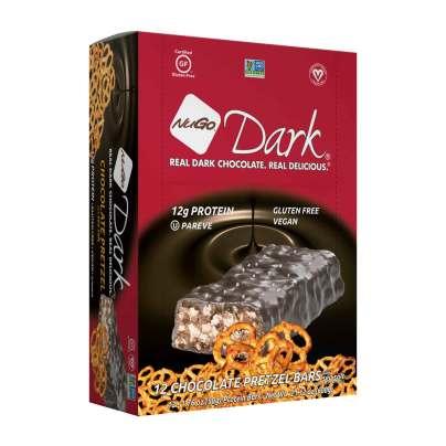 NuGo Dark - Chocolate Pretzel - NuGo Nutrition