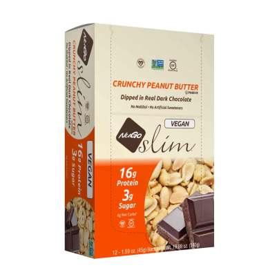 NuGo Slim - Crunchy Peanut Butter product image