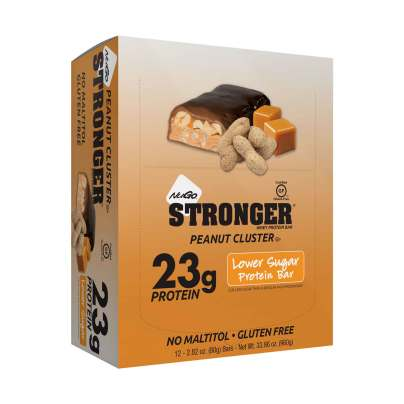 NuGo STRONGER - Peanut Cluster product image