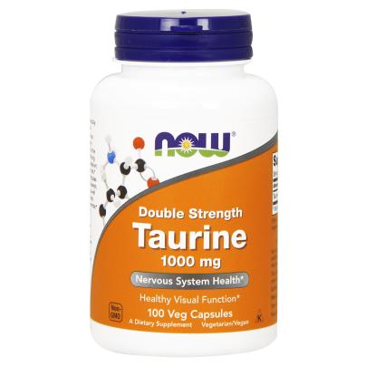 Taurine 1000mg - NOW Foods