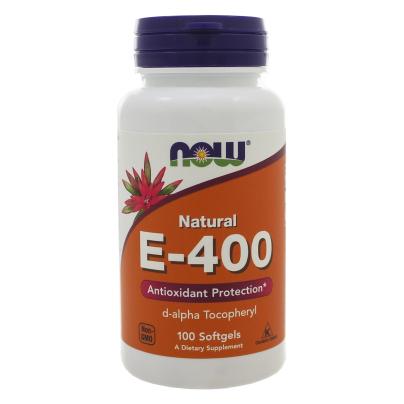 E-400 Softgels - NOW Foods