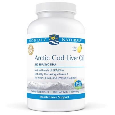 Arctic Cod Liver Oil Lemon product image