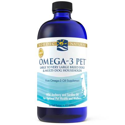 Omega-3 Pet (Large to Very Large dogs) - Nordic Naturals