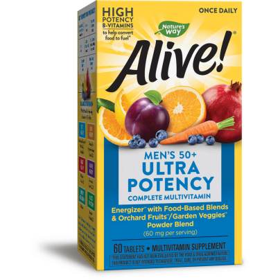 Alive! Once Daily Mens 50+ Multi (Ultra Potency) product image