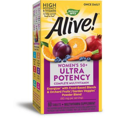 Alive! Once Daily Womens 50+ Multi (Ultra Potency) product image