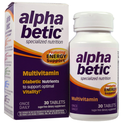alpha betic® Multivitamin, Energy Support product image