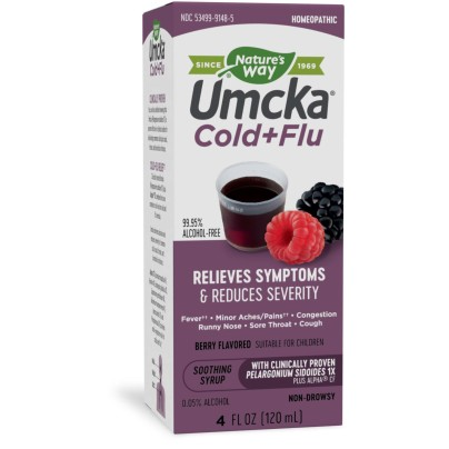 Umcka® Cold+Flu Syrup Berry product image