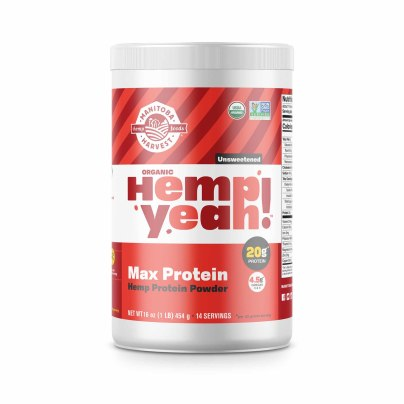 Hemp Yeah! Max Protein Unsweetened ORG - Manitoba Harvest