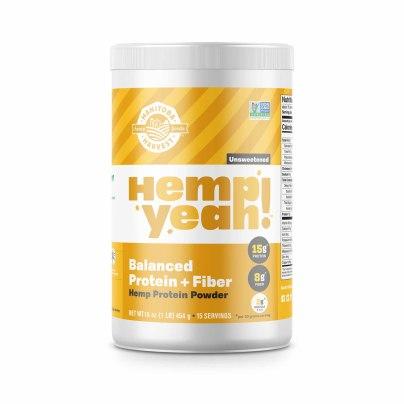 Hemp Yeah! Balanced Protein + Fiber Unsweetened - Manitoba Harvest