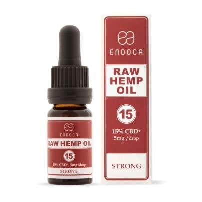 RAW CBD Oil - 1500mg of CBD +CBDa - Endoca