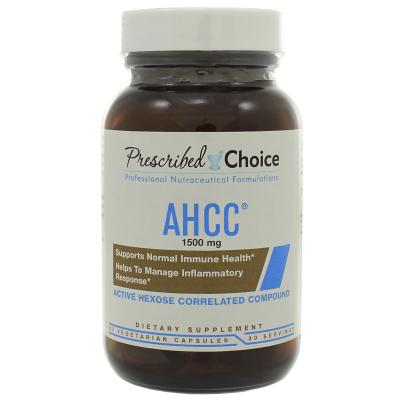 AHCC 1500mg - Prescribed Choice/OL