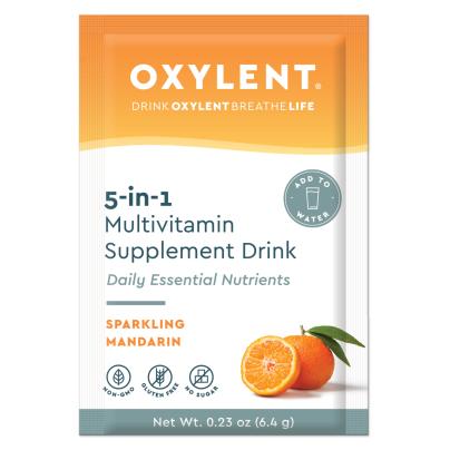 Multi 5-in-1, Sparkling Mandarin - Oxylent
