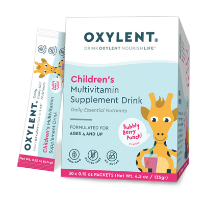 Children's Multi, Bubbly Berry Punch - Oxylent