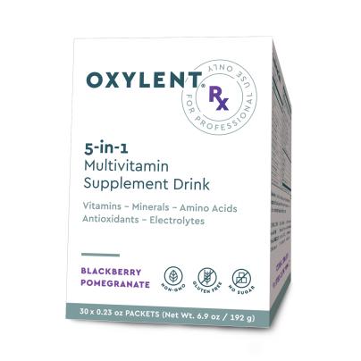 Oxylent Rx, Blackberry Pomegranate - Oxylent