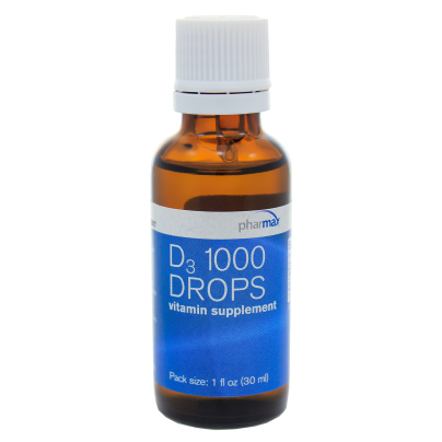 D3 1000 Drops - Pharmax