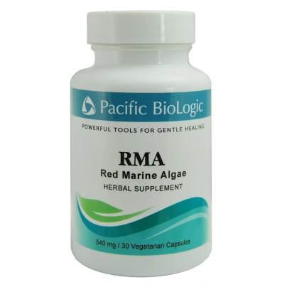 RMA (Red Marine Algae) 540mg - Pacific Biologic