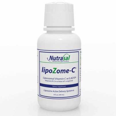 LipoZome C: Liposomal Vitamin C with B12 8oz product image