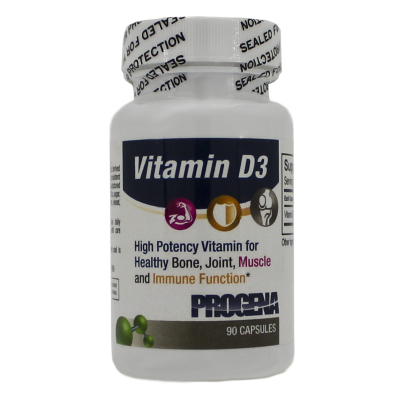 Vitamin D3 (as Cholescalciferol) 1000IU - Progena