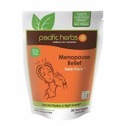Menopause Relief Herb Pack - Pacific Herbs