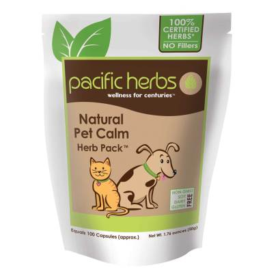 Natural Pet Calm Herb Pack - Pacific Herbs