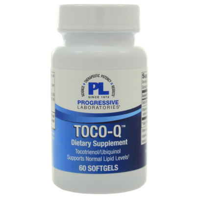 Toco-Q (Tocotrienol/Ubiquinol) - Progressive Labs
