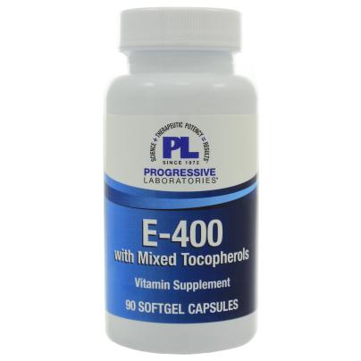 E-400 w/Mixed Tocopherols - Progressive Labs