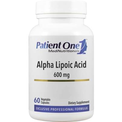 Alpha Lipoic Acid 600mg - Patient One MediNutritionals