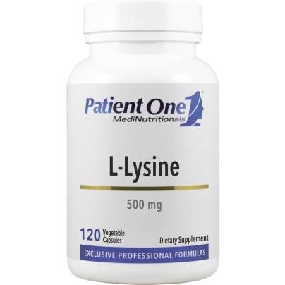 L-Lysine 500mg - Patient One MediNutritionals