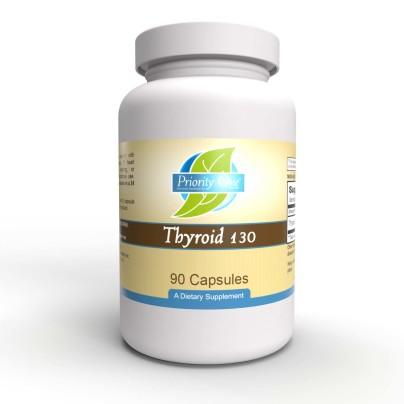 Thyroid 130mg - Priority One