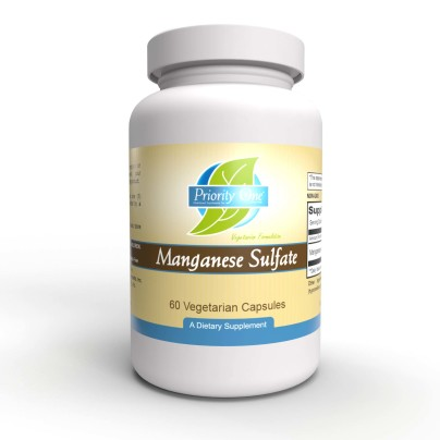 Manganese Sulfate 400mg - Priority One