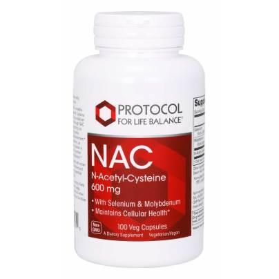 NAC N-Acetyl Cysteine 600mg product image