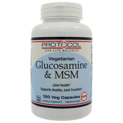 Vegetarian Glucosamine + MSM product image