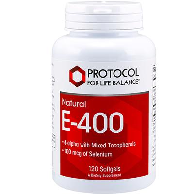 E-400 MT + Selenium - Protocol for Life Balance