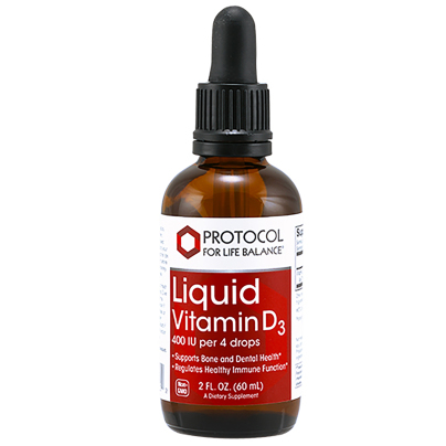 Liquid Vitamin D3 - Protocol for Life Balance