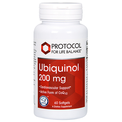 Ubiquinol 200mg - Protocol for Life Balance