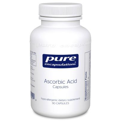 Ascorbic Acid capsules - Pure Encapsulations