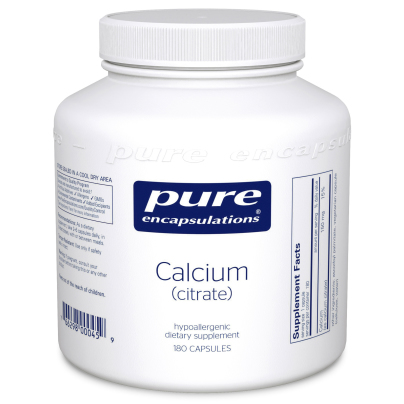 Calcium (Citrate) - Pure Encapsulations