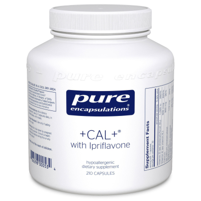 +CAL+ With Ipriflavone - Pure Encapsulations