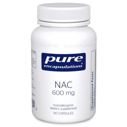 NAC 600mg - Pure Encapsulations