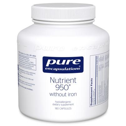 Nutrient 950 W/O Iron - Pure Encapsulations