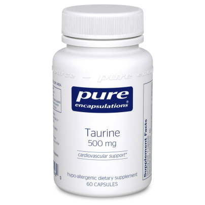 Taurine 500mg - Pure Encapsulations