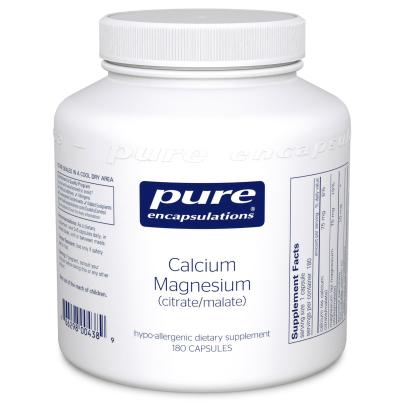 Calcium Magnesium (citrate/malate) - Pure Encapsulations