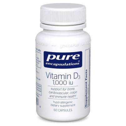 Vitamin D3 1000 i.u. - Pure Encapsulations